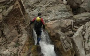 Canyoning activities